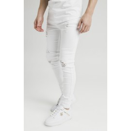 Distressed Skinny Denims