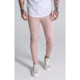 Clean Light Pink Jeans