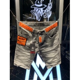 Black Wash Orange Short