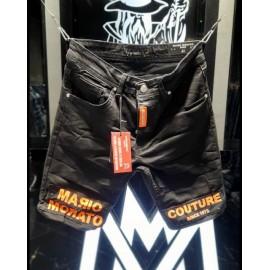 Black Orange Short