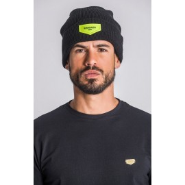 Beanie with Neon Green GK Plaque