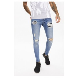 SUSTAINABLE DISTRESSED JEANS SKINNY FIT